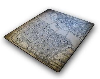 Arkham Horror, Neopren Playmat 61x69 cm, Premium Stitched Edges (black)