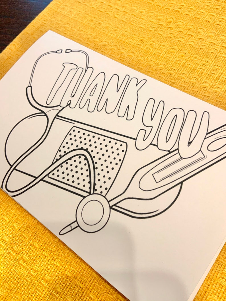 Thank You Essential Worker Card DIGITAL DOWNLOAD