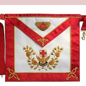 Masonic AASR Scottish Rite 32 Degree Collar Hand Embroidered