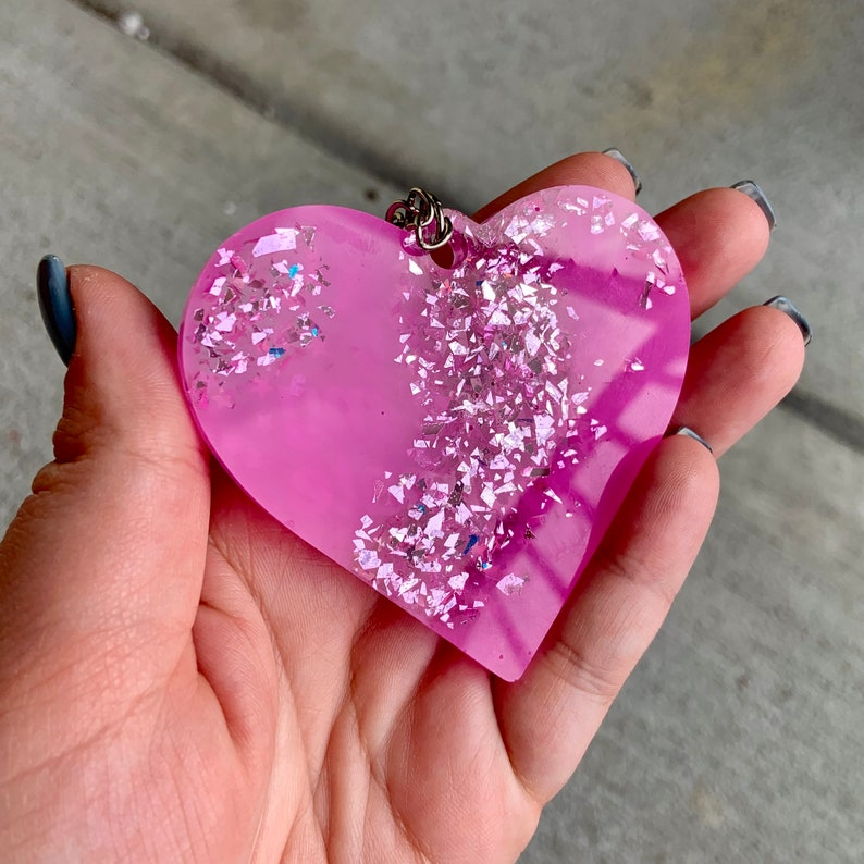 Bitch You/'re My Soulmate Heart Shaped Keychain