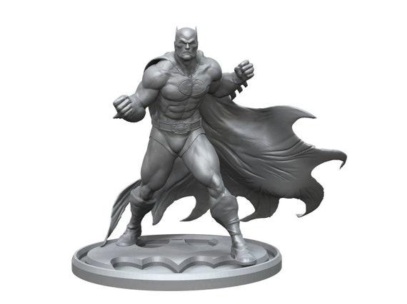 Batman  3d print stl files marvel dc