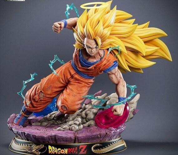 Goku SSJ3 3D Print STL Files marvel dc