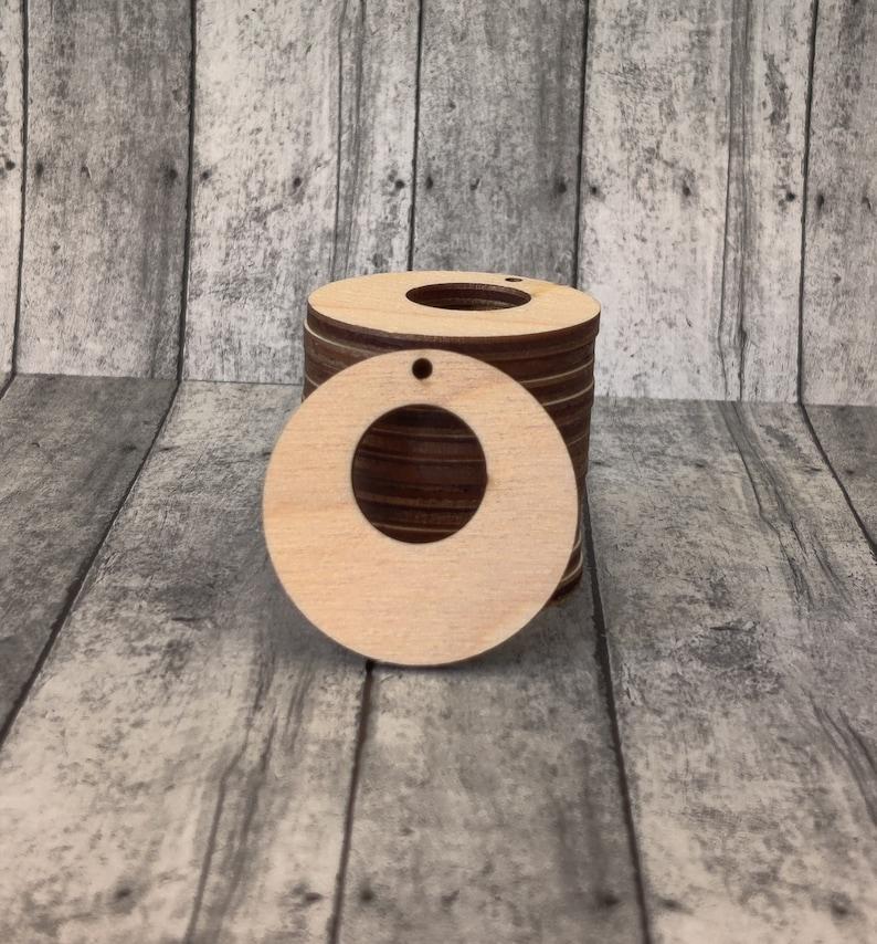 Baltic Birch Wooden Cutout Earring Shapes DIY Earrings New HOOP Bundle Pre-cut Earring Shapes