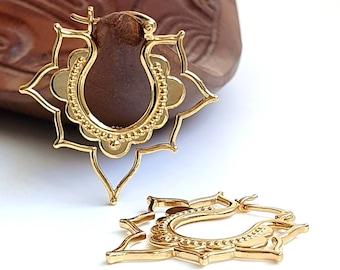 Filigree earrings made of 925 silver sterling