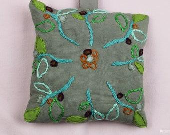 Fresh smelling lavender flower pillow