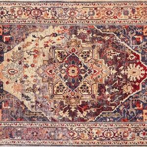 Heriz Rug Turkish Vintage Rug 6x9 Red Rug 6x9 Turkish Area Rug 6x9 Turkish Rug 6x9 Carpet Oushak Rug 6x9 Rugs 6x9 Oriental Rug 6x9