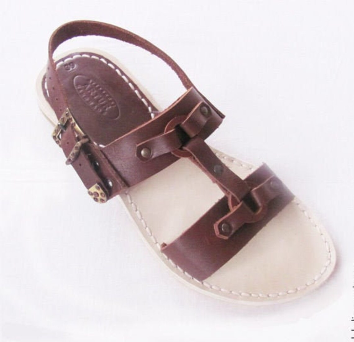 IDA handcrafted leather sandals