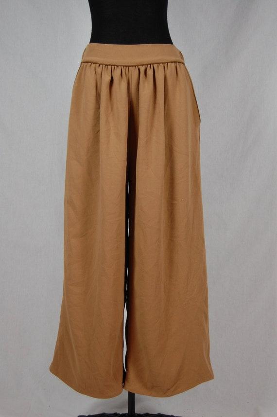 Women's Japanese Vintage Culotte brown size M