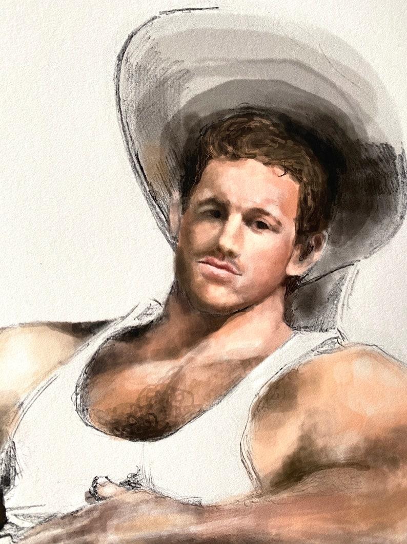 Hot Gay Cowboy Nude Gallery Gif