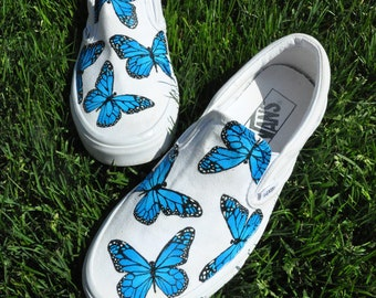 Hand Painted Vans Etsy