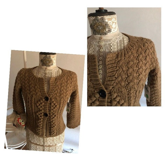 Cardigan handmade gorgeous workmanship