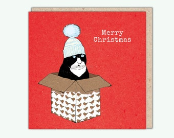 Christmas card, Winter Knits