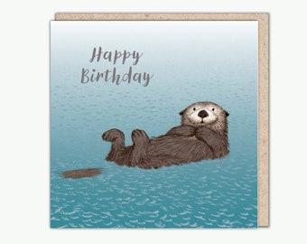 Sea Otter by Una Joy