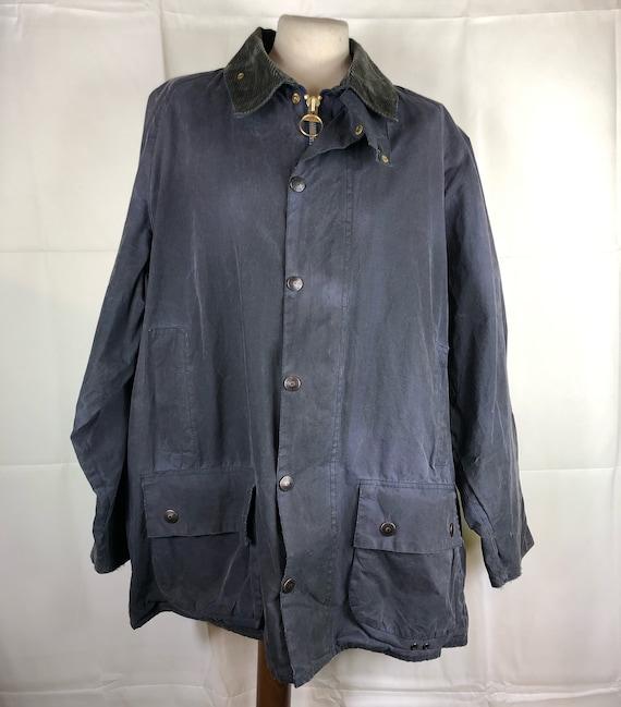 Barbour Jacket Men's Beaufort Vintage Blue C48/122