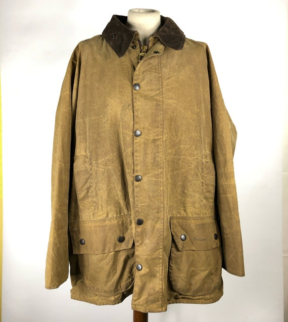 Barbour Men's Jacket Vintage Moorland Brown C46/11