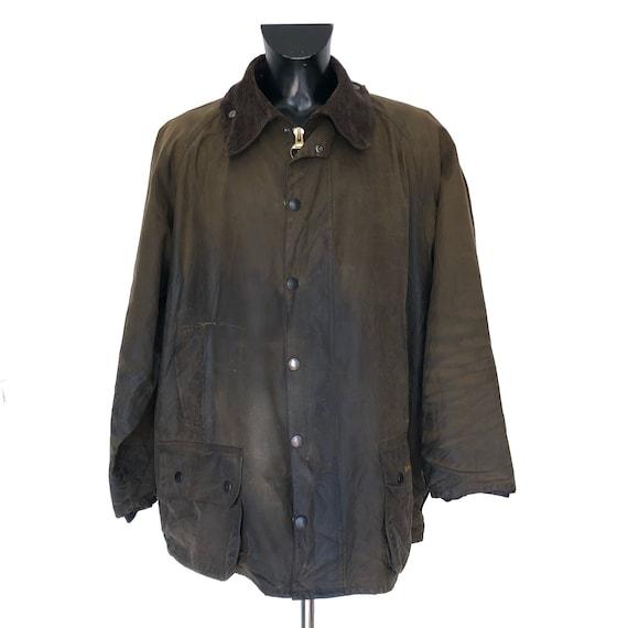 Paisley Beaufort XXL Vintage Men's Barbour Jacket