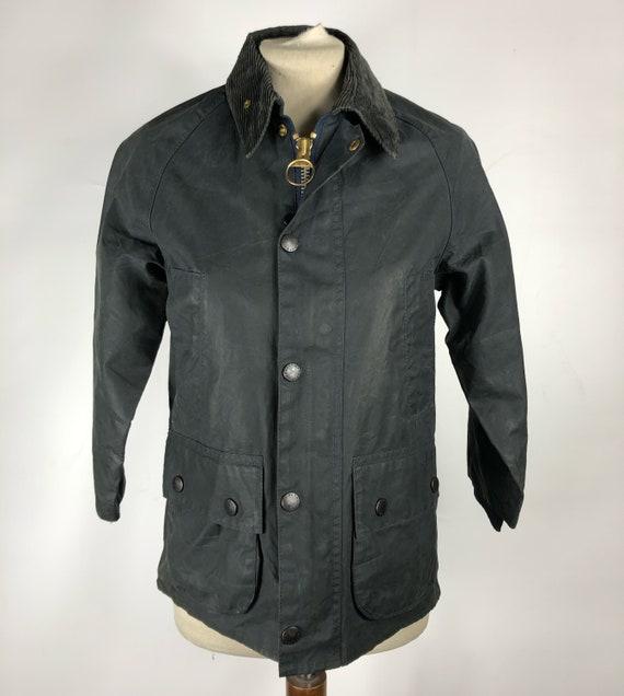 Barbour Vintage Men's Jacket Bedale Blue C30/76 CM