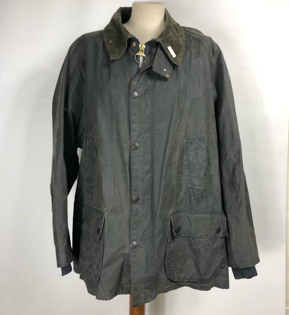 Barbour vintage men's jacket Bedale blue c52/122 c