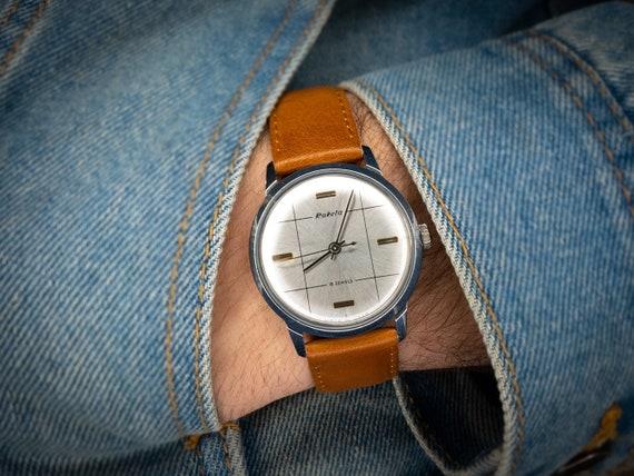 Original vintage watch Raketa, Soviet watch, Rocke