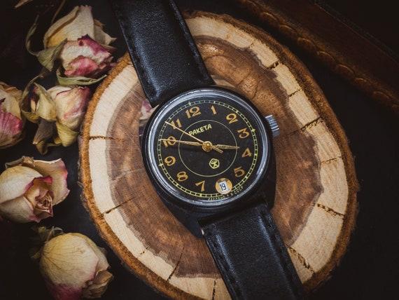 Watch Raketa 2614, Rocket watch, Original Soviet w