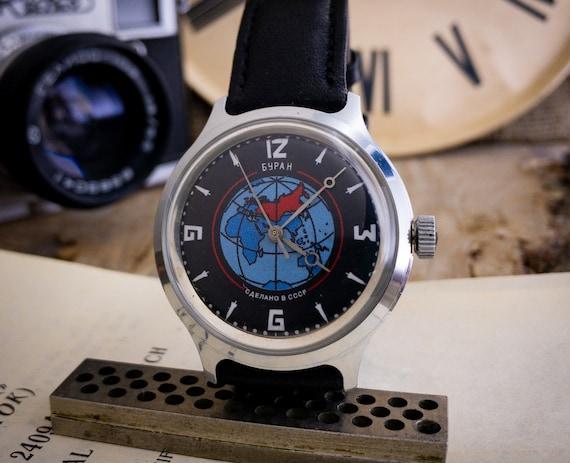 Collectible watch Buran, Very RARE watch, Soviet w