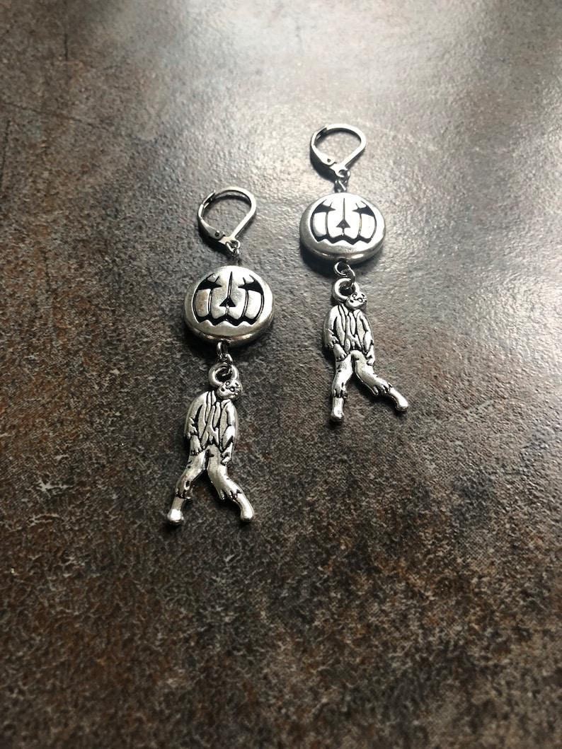 Jacks ghosts and ghouls earrings