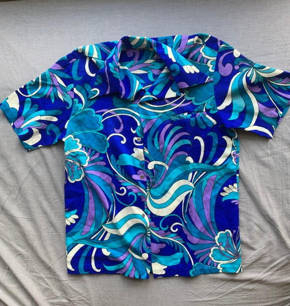 Funky Vintage Hawaiian Button Up