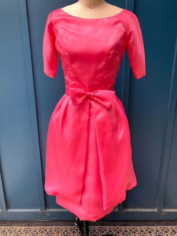 1960's Party Dress with overskirt