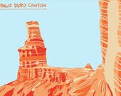 Palo Duro Canyon Downloadable Print