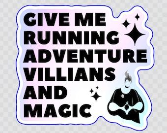 Villians and Magic Sticker