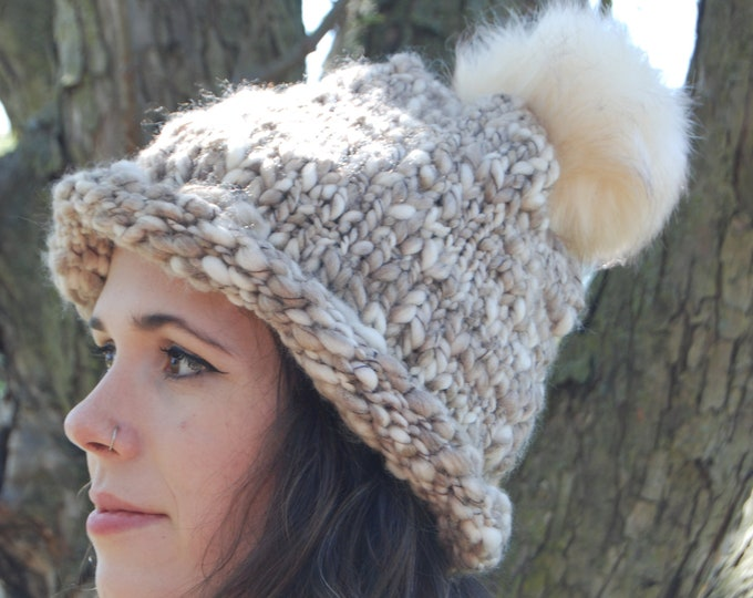 Featured listing image: Unique Roll Brim Slouch BOHO Beanie