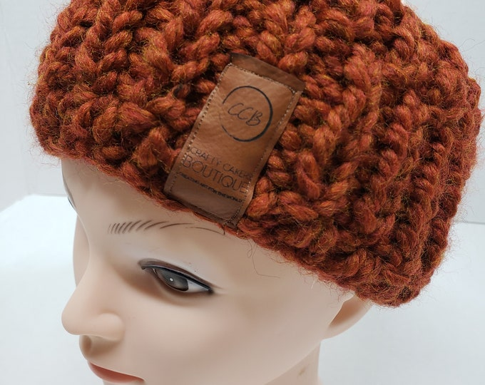 Featured listing image: Chunky Knit Ear Warmer