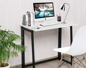Folding Table,Small Foldable Computer Desk,Home Office Laptop Table Writing Desk, Secretary Desk, Mid Century Desk, Gaming Desk, Office Desk