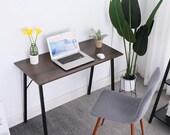 Writing Computer Desk Modern Simple Study Table Kids Desk Small Industrial Home , Secretary Desk, Mid Century Desk, Gaming Desk, Office Desk