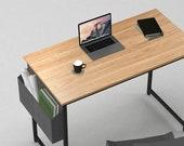 Computer Desk 32 quot Home Office Writing Study Desk, Modern Simple Style Table, Secretary Desk, Mid Century Desk, Gaming Desk, Office Desk
