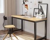 Modern Simple Style Computer Desk PC Laptop Study Table Office Desk Workstation, Secretary Desk, Mid Century Desk, Gaming Desk, Office Desk