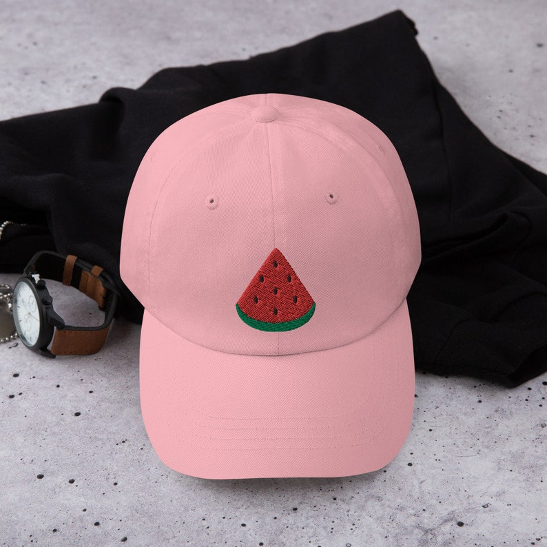 Watermelon Hat Embroidered Baseball Cap Watermelon Lover Gift Watermelon Costume Watermelon Gift Watermelon Dad Hat Dad Hat Dad Cap
