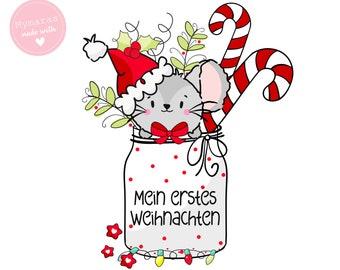 Bügelbild * Weihnachten * Merry Christmas * PCW