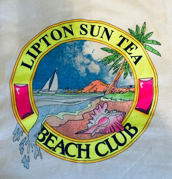 Vintage Lipton Sun Tea T-shirt