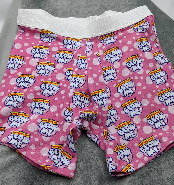 Bubble Gum Boxer Briefs XXS-4X image 0