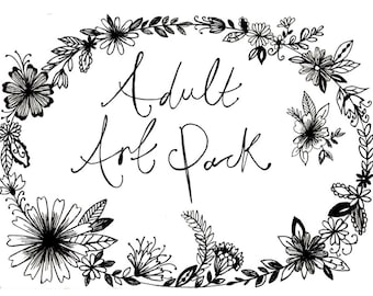 Art Pack For Adults