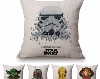 Star wars pillow | Etsy