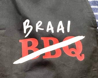 BBQ / BRAAI Apron South African Father's Day gift