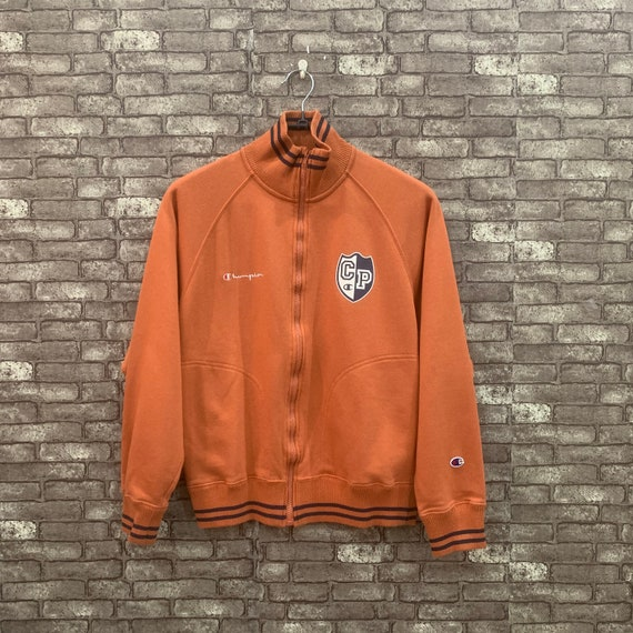 90's Champion Jacket Brown Jumper Pullover