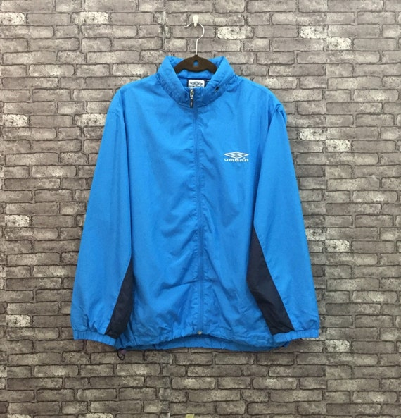 90's Umbro Jacket Blue Umbro Windbreaker Jacket