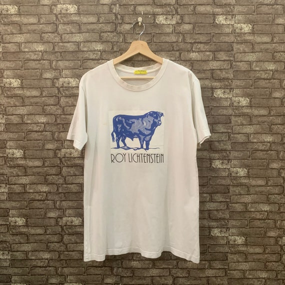 Roy Lichtenstein T Shirt Cow Triptych Shirt White