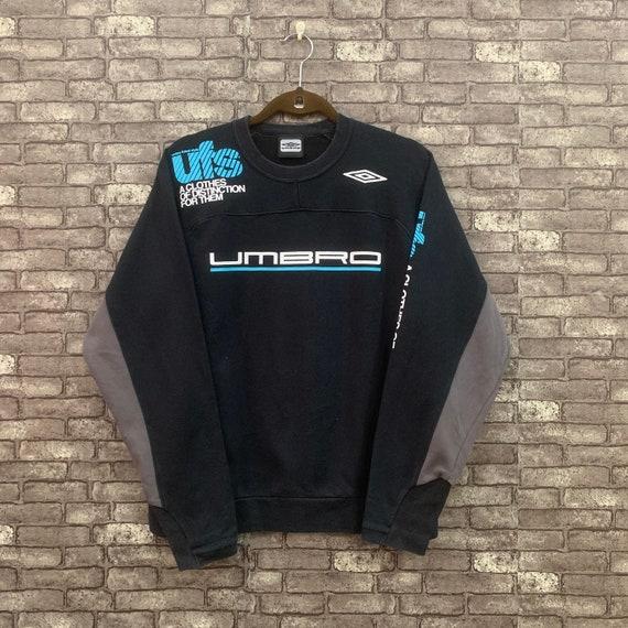 90's Umbro Sweatshirt Blue Big Logo Umbro Futsal P