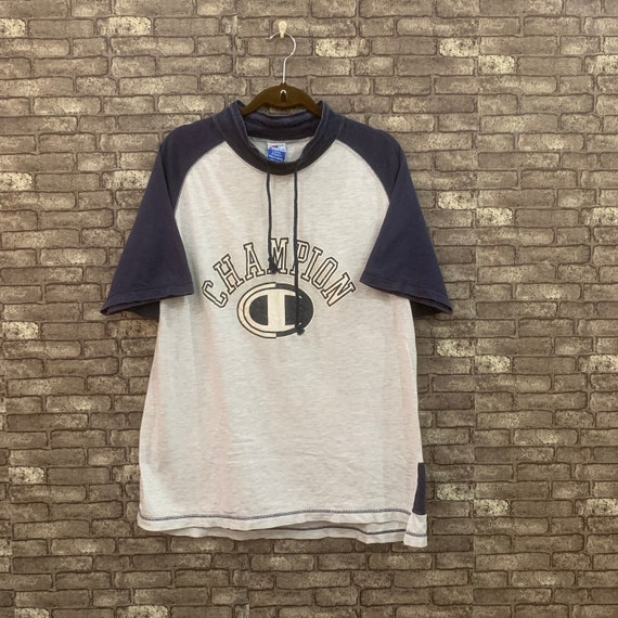 90's Champion T Shirt Big Logo Champion Tee