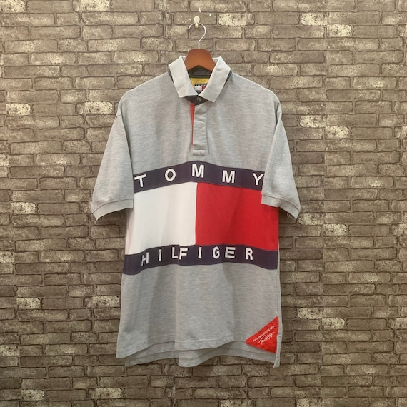 Tommy Hilfiger Polo Shirt Short Sleeves Sailing Ge