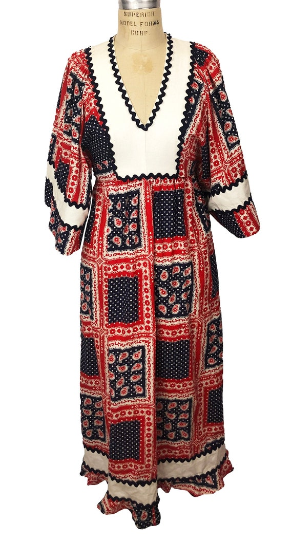 1970's Young Innocent By Arpeja cotton dress
